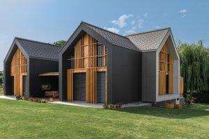 Частный деревянный дом проекта House XL.